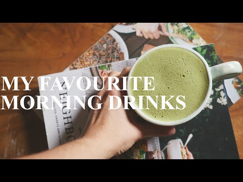 STARTING THE MORNING RIGHT | MATCHA, CACAO AND DANDY LATTES