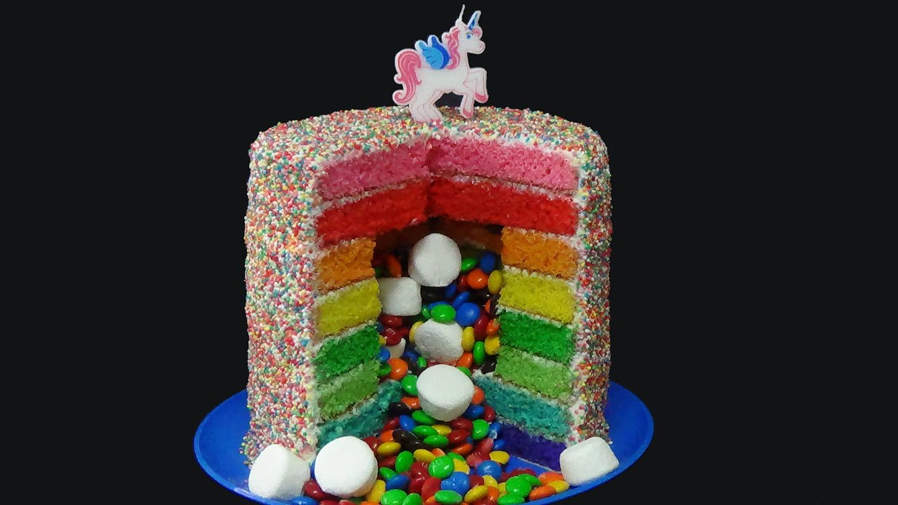 How To Make A Pinata Birthday Cake