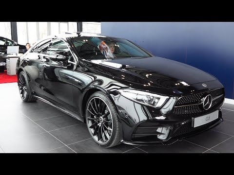 2018 Mercedes CLS AMG Coupe - NEW Full Review CLS 400d 4MATIC Interior Exterior Infotainment