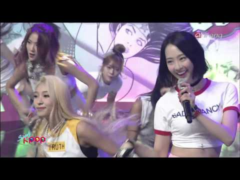 [1080p] 씨스타 - SHAKE IT (150703 Simply K-Pop)