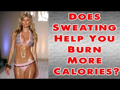 does-sweating-help-you-burn-more-calories!!-home-remedies-for-loose-weight!!