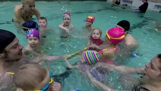 Плавание с детьми 3-5 лет