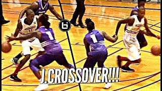 Jamal Crawford PUTS IT AROUND DEFENDER to Cap UNDEFEATED SEASON In Championship Game!