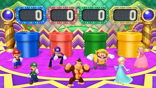 Mario Party 10 - All Characters Coin Challenge