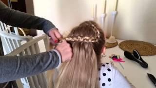 Super fryzura w 5 minut, nice hairdress in 5 minutes , romantic slavic  haidress – kopia