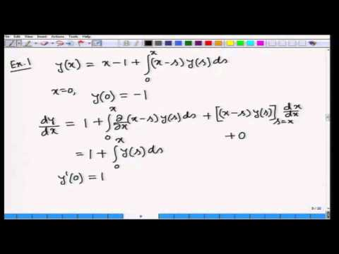 Mod-01 Lec-22 Calculus of Variations and Integral Equations