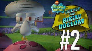 Spongbob x Squidward?! I Like Squidward | SpongeBob SquarePants: Battle for Bikini Bottom - PART 2