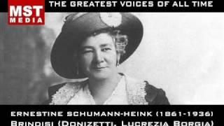 100 Greatest Singers: ERNESTINE SCHUMANN-HEINK