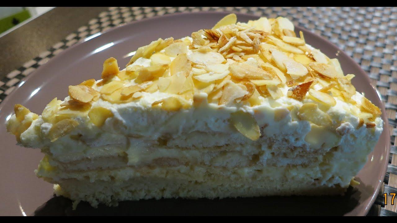 erdbeer malakoff torte • rezept