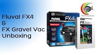 Fluval FX4 & FX Gravel Vac Unboxing #AaronsAquarium