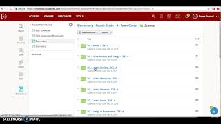 Accessing Schoology AMP Science Questions - Coppell ISD
