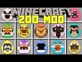 Minecraft ZOO MOD l TAME 30 NEW ANIMALS AND MAKE YOUR OWN ZOO! l Modded Mini-Game