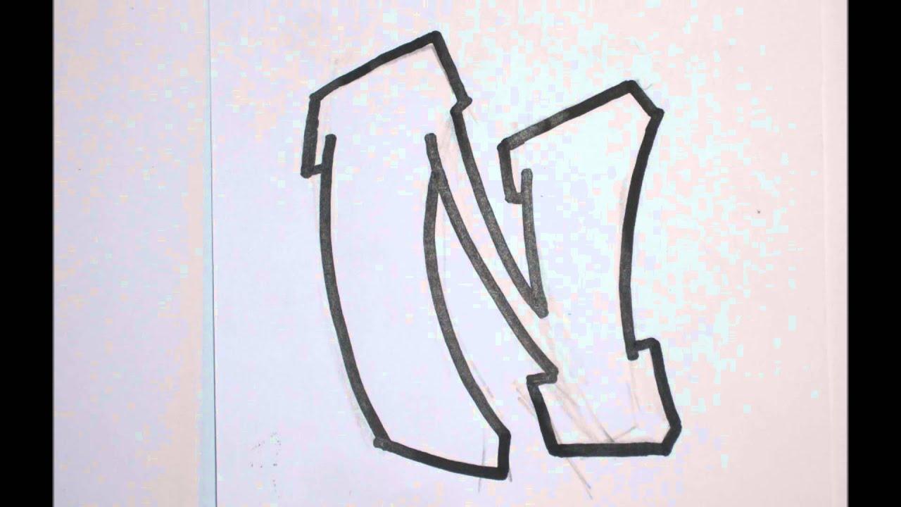 Graffiti alphabets lettre par lettre débutants