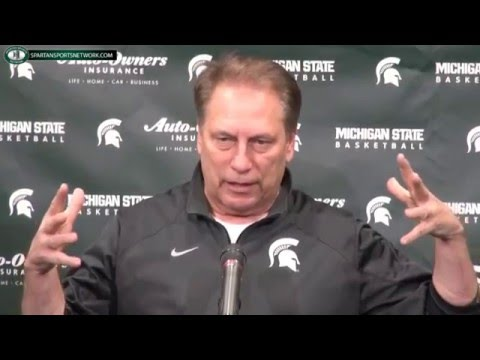 Tom Izzo Previews 2016 Big Ten Tournament