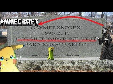 minecraft gravestone mod 1.12.1