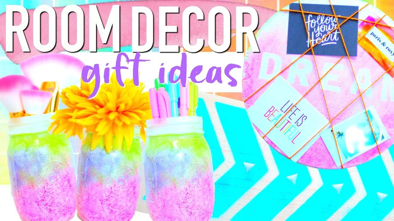DIY BRIGHT COLORFUL ROOM DECOR GIFT IDEAS | Paris U0026 Roxy   YouTube