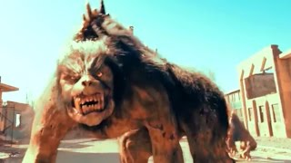 Werewolf Fight Scene - Monster Giant Lycan HD