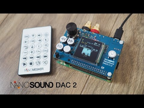 Manual Installation Of Volumio & NanoSound DAC Software  (Raspberry Pi DAC)