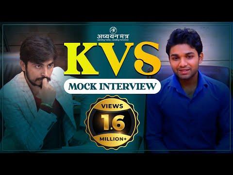 KVS MOCK INTERVIEW