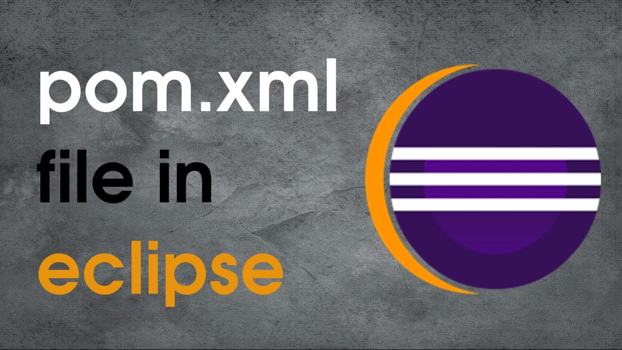 How to edit maven project's pom file in eclipse?- hadoop project example