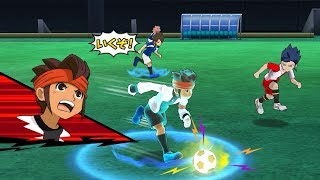 Inazuma Eleven Go Strikers 2013 Inazuma Legend Japan Vs New Inazuma Japan Wii (Dolphin/Gameplay)
