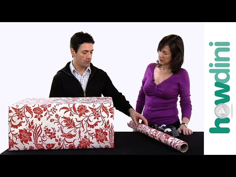 How to gift wrap a large gift
