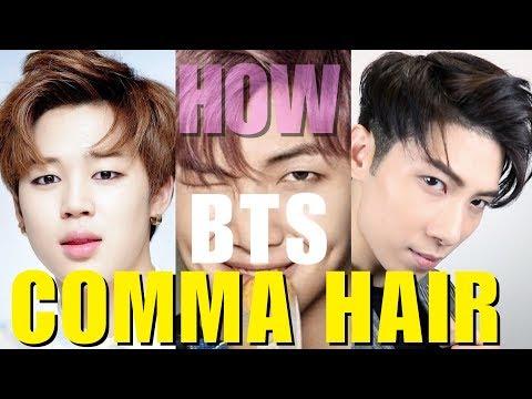 BTS COMMA HAIR 2019   I 逗號頭造型教學 |  KOREAN TWO BLOCKCUT | KPOP STAR STYLE |  ISSAC YIU