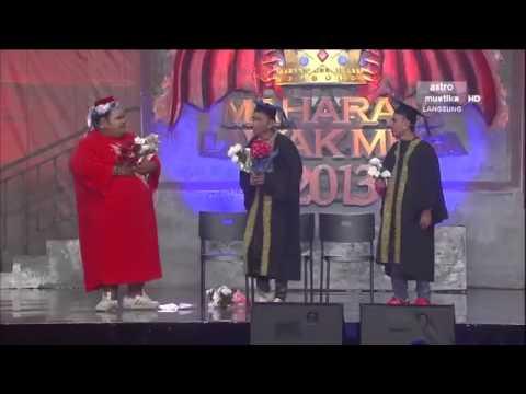 Maharaja Lawak Mega 2013 - Minggu 12 - Persembahan Zaman Kolej - Bocey