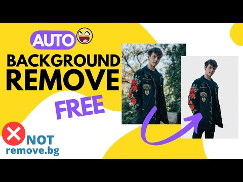 FREE Auto BACKGROUND REMOVER Online   In Hindi