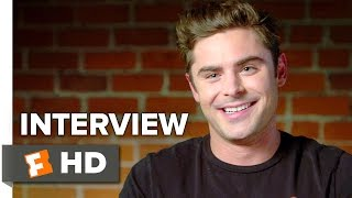Dirty Grandpa Interview -  Zac Efron (2016) - Robert De Niro, Aubrey Plaza Movie HD