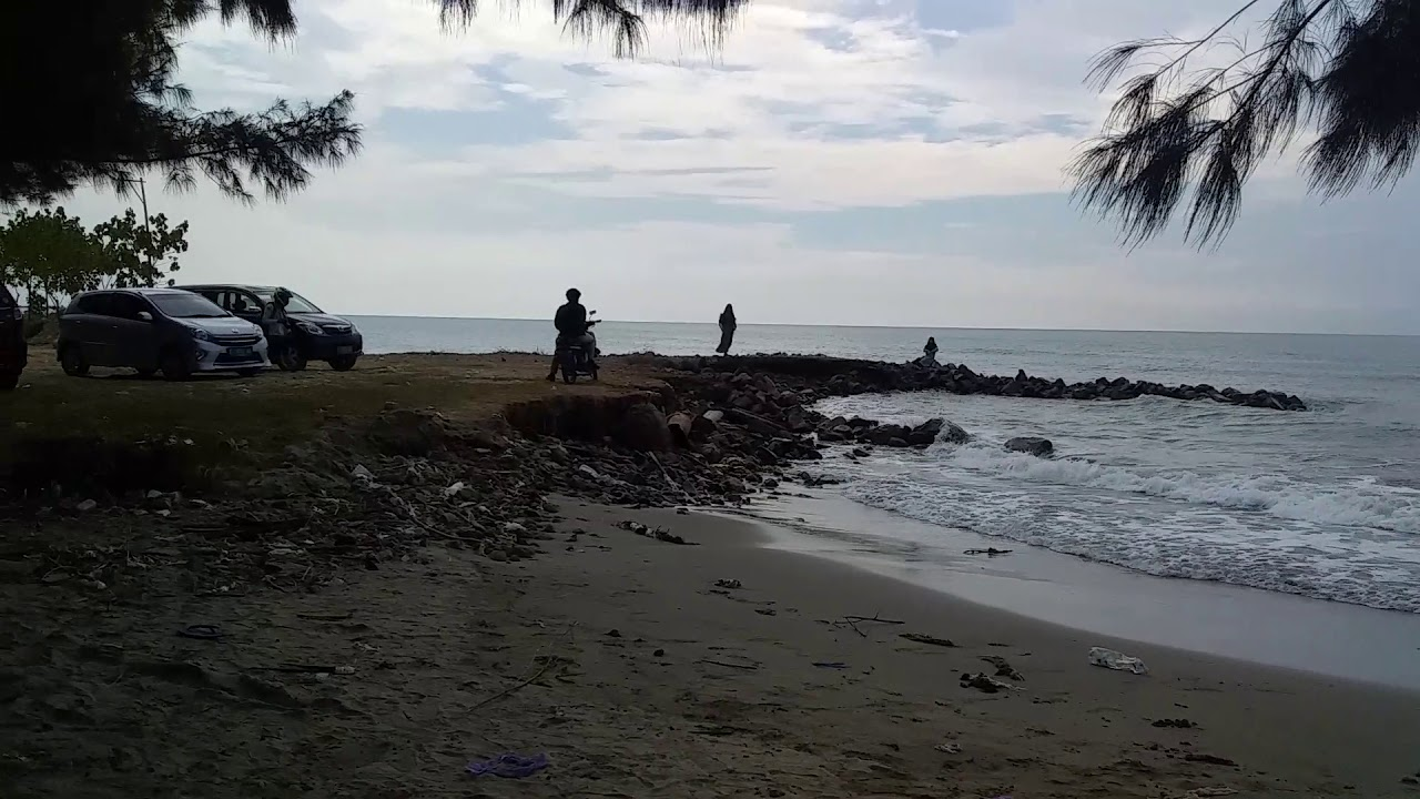 Pantai jatisari sluke Rembang - YouTube