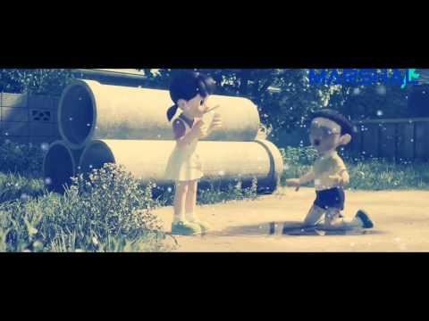 BAARISH - Half Girlfriend ||Animations Of Doraemon||
