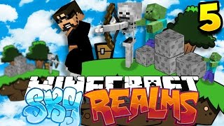 Minecraft: SKYREALMS CHALLENGE   VOTING AND EPIC KEYS!! [5]