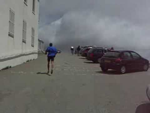 Mt Ventoux top - finish