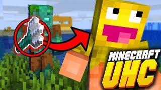 Minecraft UHC: PRAWIE ZABIŁ MNIE WIDELCEM!  (SKKF) [#3]