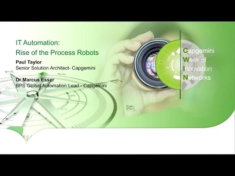 IT Automation: Rise of the Process Robots