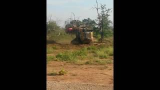 Bushwackers Land Clearing - Cat 299D with Fecon mulcher