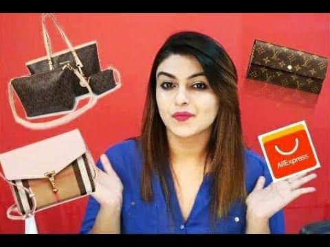 My replica Handbag Collection   Part 2 NEW Aliexpress Haul   ioffer Haul 2018
