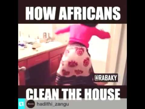 african cleaning