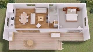 Tiny House Floor Plans On Foundation - Gif Maker Daddygif.com See Description