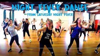 SATURDAY NIGHT FEVER LINE DANCE (