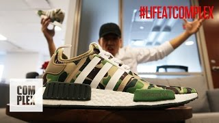 wearing fake bape x nmd s in the office   lifeatcomplex