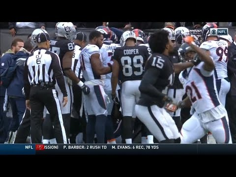 What Started the Michael Crabtree & Aqib Talib fight + Full Fight (HD)