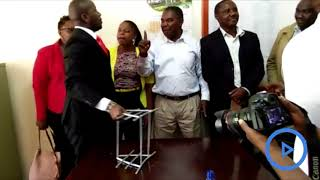 Murang'a MCAs engage in a fist fight at the County Assembly