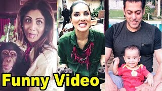 Bollywood Movie Actress & Actors FUNNY Video Clips Full Prank and Comedy Moments