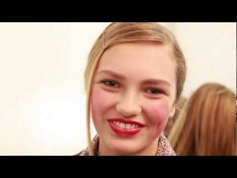 Interview with model Romee Strijd, New York Fashion Week FW 2012-13