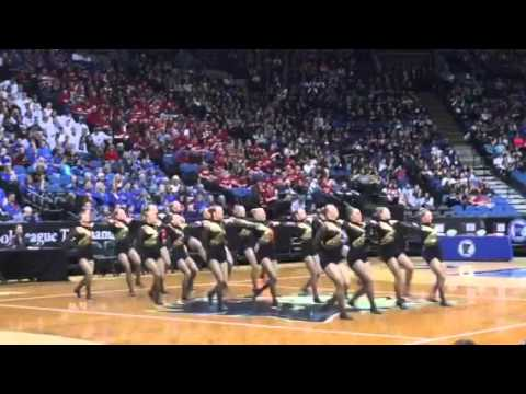 Hutchinson Dances in AA state Kick