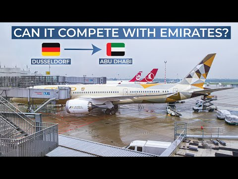TRIPREPORT | Etihad Airways (ECONOMY) | Boeing 787-9 | Dusseldorf - Abu Dhabi
