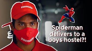 Spiderman Delivers in Boys Hostel |...