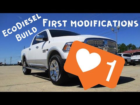 Ram 1500 EcoDiesel Build FIRST MODIFICATIONS! Edge Insight CTS2 Review